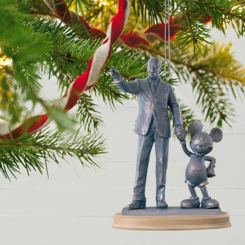 Walt Disney and Mickey Mouse Ornament