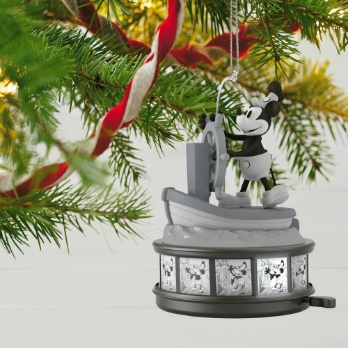 Steamboat Willie Ornament