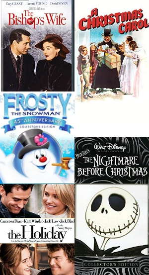 Christmas movie cover photos