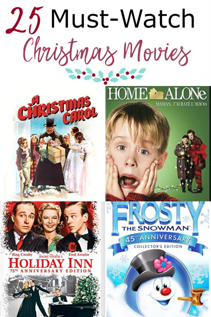 best christmas movies collage