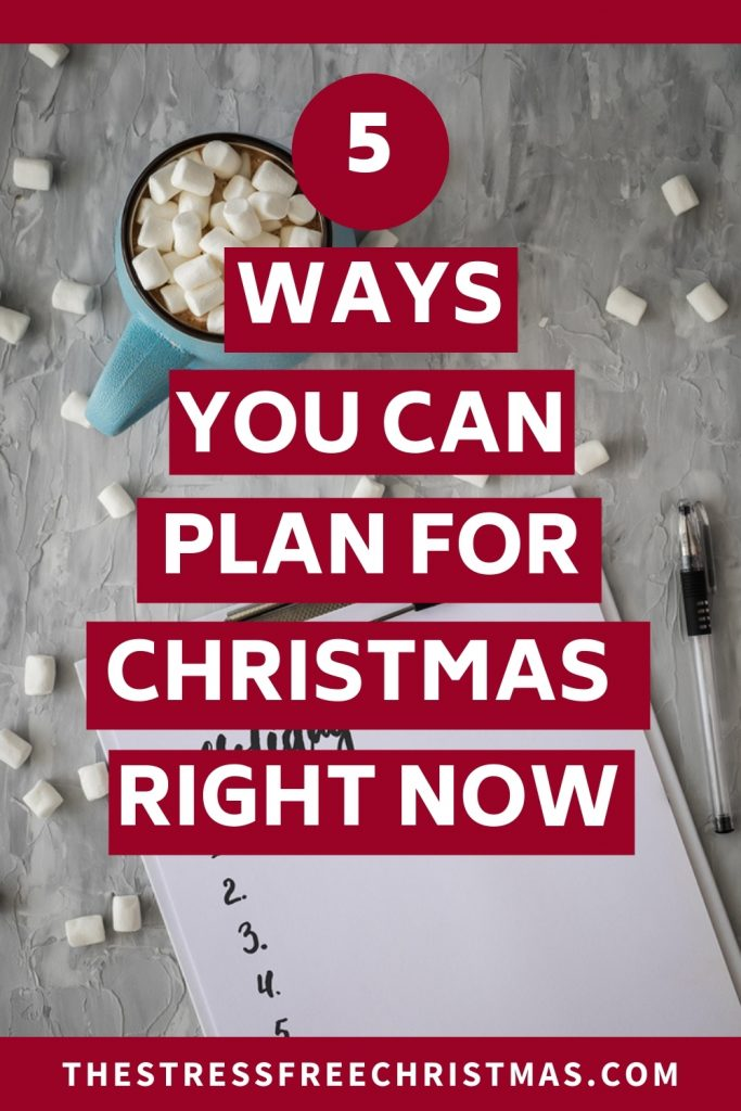 hot cocoa on table with holiday to-do list