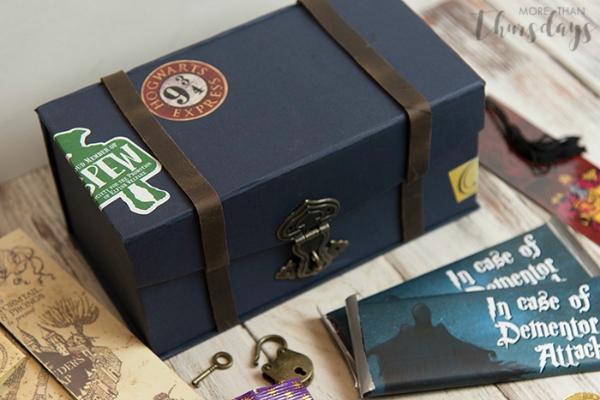 Harry Potter Treasure Box Closed
