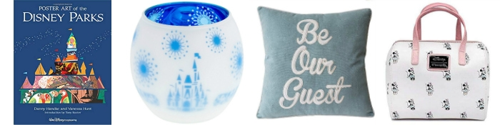 collage of Disney gifts for adults