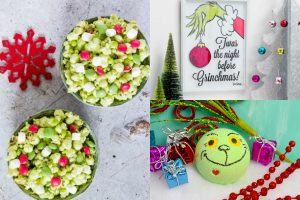 The Grinch Inspired Christmas Party