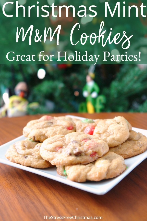 Christmas Mint M M Cookies The Stress Free Christmas
