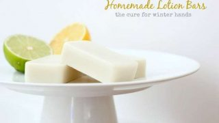 DIY Lotion Bars: The Cure for Winter Hands