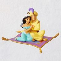 Aladdin A Whole New World Porcelain Ornament