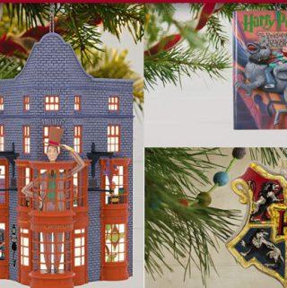 Harry Potter hallmark christmas ornaments