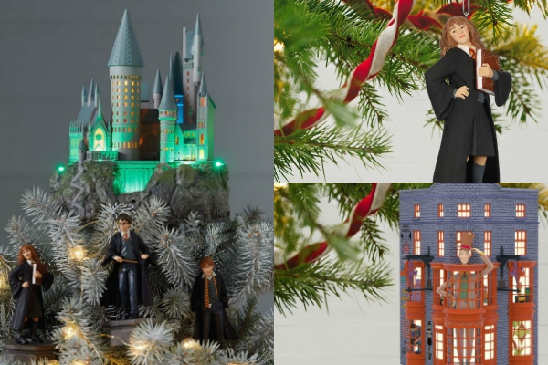 The Best Hallmark Harry Potter Christmas Ornaments
