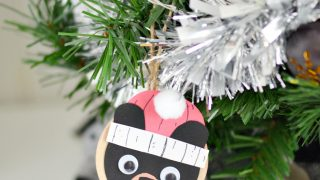 Black Bear Ornament Craft Inspired by Santa Bruce