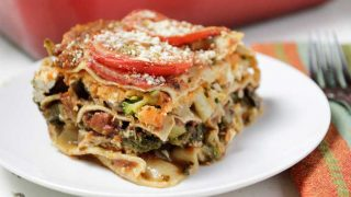 Sweet Potato Veggie Lasagna