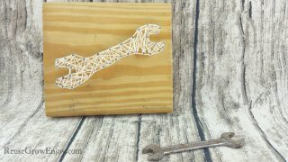 DIY Wrench String Art