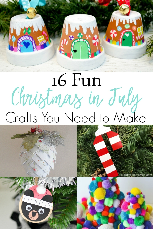 Christmas In July Crafts The Stress Free Christmas