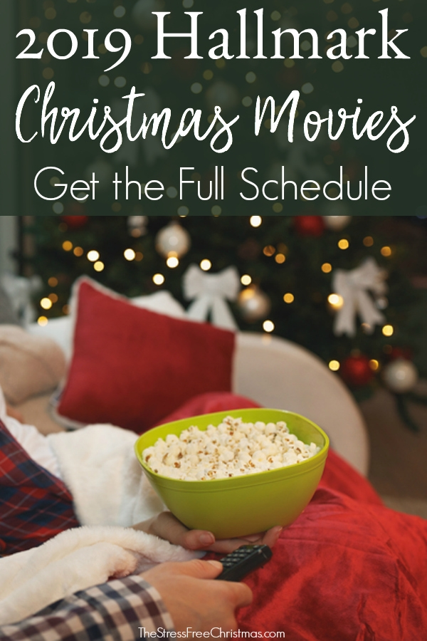 Hallmark Christmas In July 2019.2019 Hallmark Christmas Movies The Stress Free Christmas