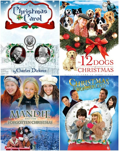 collage christmas movies