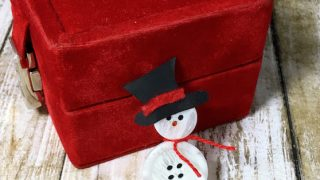 Snowman Lapel Pin Christmas Craft