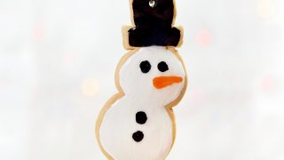 Polymer Clay Snowman Sugar Cookie Ornament