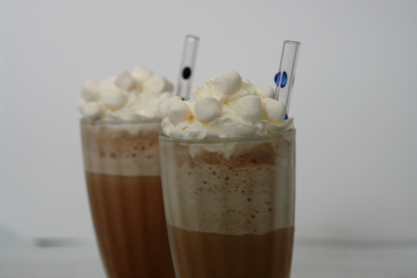 Frozen Hot Chocolate Frappe