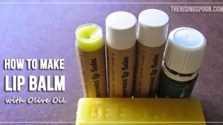 How to Make Lip Balm with Olive Oil