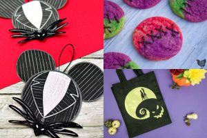 nightmare before Christmas collage
