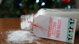 Fizzy Peppermint Bath Salts
