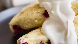 Fresh White Chocolate Cranberry Scones