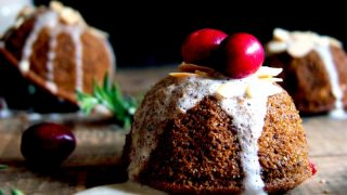 Little Cranberry Citrus Holiday Cakes