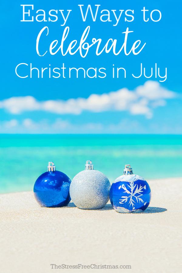 Christmas tree decorations on sea beach sand