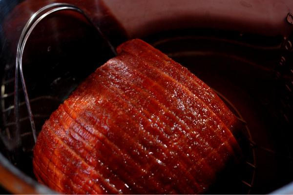 Instant Pot Ham With Whiskey Maple Glaze