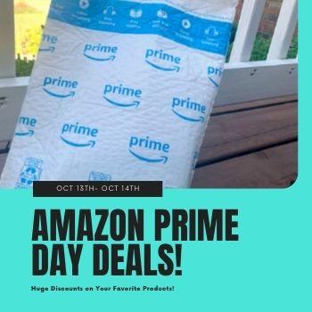 Amazon Prime Day Deals button
