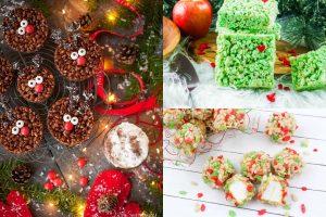 The Best Christmas Rice Krispie Treats