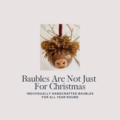 baubles are not just for christmas ad