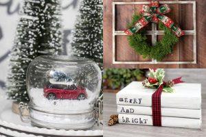 10 Dollar Tree Christmas Crafts to Make This Christmas